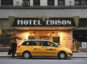 Edison Hotel в Нью Йорке