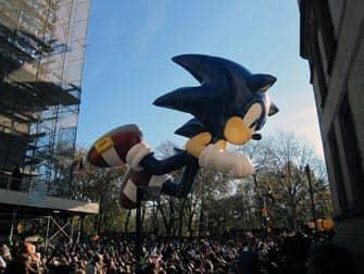 Парад Мэйсис Sonic