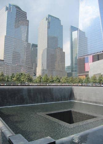 Ground Zero Нью-Йорк