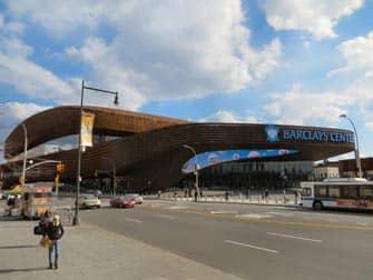 Барклейс центр в Нью-Йорке