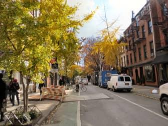 Гринвич-Виллидж в Нью-Йорке
