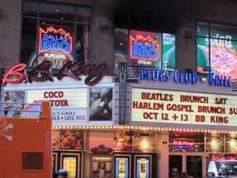 Джаз и Блюз в Нью-Йорке BB-King