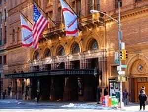 Карнеги холл в Нью Йорке