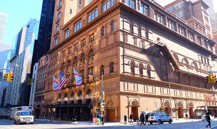 Карнеги-холл в Нью-Йорке Sala-de-Concertos