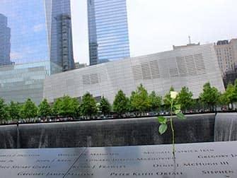 Мемориал 9-11 в Нью-Йорке