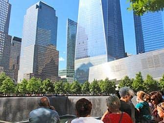 Мемориал 911 в Нью Йорке