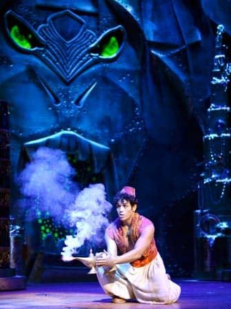 Мюзикл Aladdin в Нью-Йорке