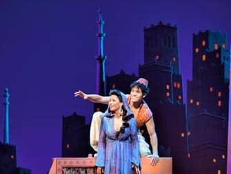 Мюзикл Aladdin на Бродвее