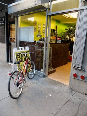 На велосипеде по Нью-Йорку
