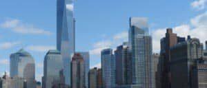 Нижняя часть Манхэттена и Финансовый квартал в Нью Йорке