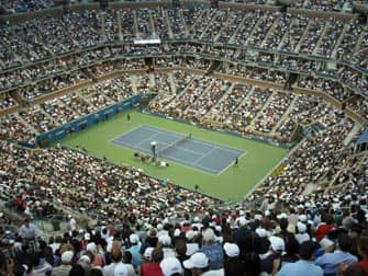 Открытый чемпионат по теннису в Нью-Йорке