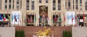 Рокфеллер центр в Нью Йорке