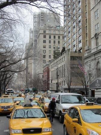 Такси по Нью-Йорку