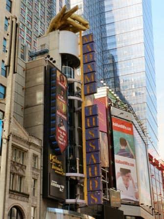 Тюссо в Нью-Йорке