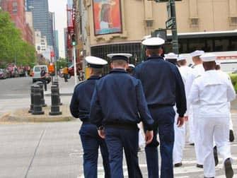 Флот в Нью-Йорке
