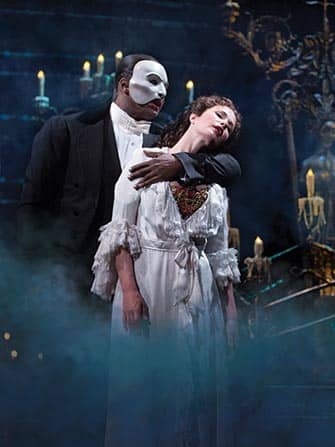 Шоу The Phantom of the Opera на Бродвее
