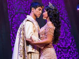 Билеты на Aladdin на Бродвее - Аладдин и Жасмин