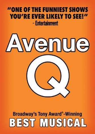 Avenue Q мюзикл вне Бродвея - Aфиша