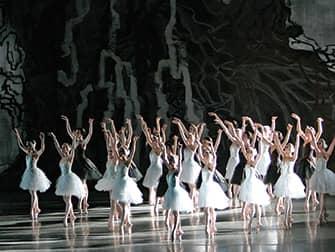 Балет в Линкольн-центре в Нью-Йорке - Лебединое озеро