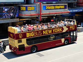 Big Bus в Нью-Йорке - Автобус