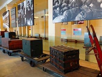 Остров Эллис Нью Йорк - музей