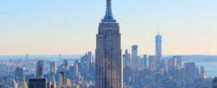 Эмпайр-Стейт-билдинг в Нью-Йорке