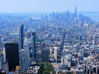 Эмпайр-Стейт-билдинг - Нью-Йорк Downtown