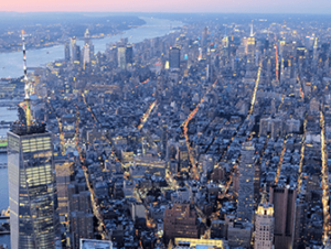 Вечерняя экскурсия на вертолете над Нью-Йорком и обзорный круиз на пароме