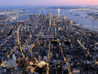 Вечерняя экскурсия на вертолете над Нью-Йорком и обзорный круиз на пароме - Downtown