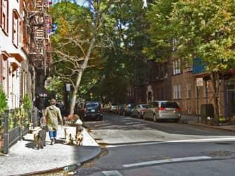Greenwich Village в Нью-Йорке