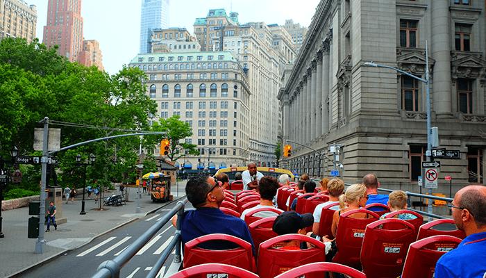 Автобусные туры Hop on Hop off в Нью-Йорке - Достопримечательности