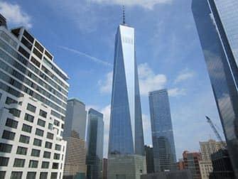 Нижняя часть Манхэттена и Финансовый квартал в Нью-Йорке - One World Trade Center
