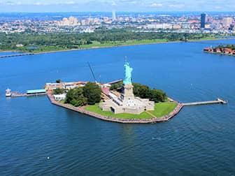 Вертолетная экскурсия над Нью-Йорком - Статуя Свободы