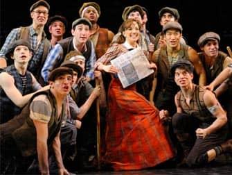 Newsies на Бродвее