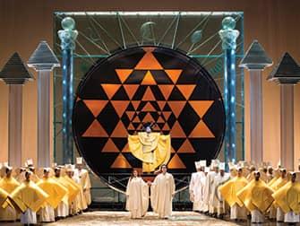 Опера в Линкольн-центре в Нью-Йорке - Волшебная флейта