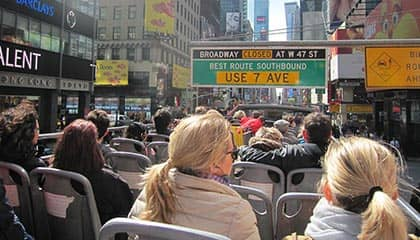 Тур Hop-on-Hop-off-Bus in New York - Sightseeing