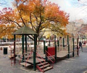 Детские площадки в Нью Йоке