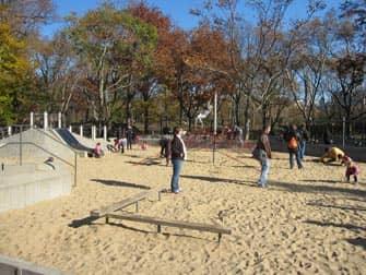 Площадка в Центральном парке