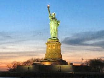 Вечерний круиз с видом Нью-Йорк