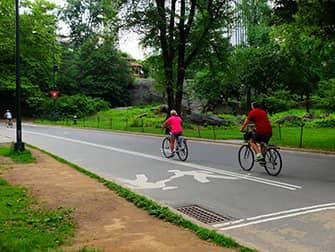 По Нью-Йорку на велосипеде - Центральный парк на велосипеде