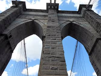 По Нью-Йорку на велосипеде - Бруклинский мост