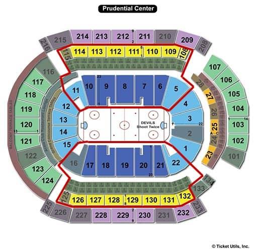 Билеты на New Jersey Devils
