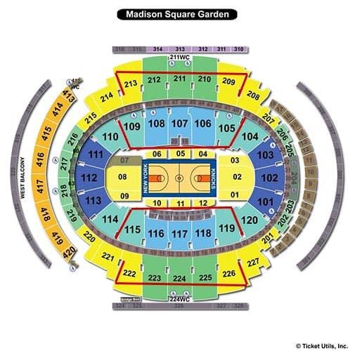 Билеты на матчи Нью-Йорк Никс