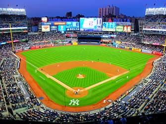 Билеты на New York Yankees - бейсбольное поле
