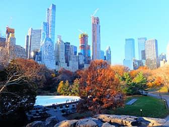 Ледовые катки в Нью-Йорке - Central Park