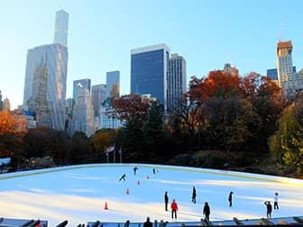 Ледовые катки в Нью-Йорке - Wollman Rink