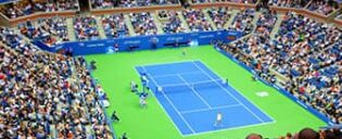 US Open Tennis в Нью-Йорке