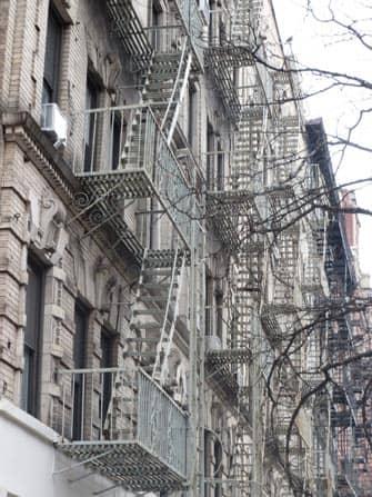 Ист-Виллидж в Нью-Йорке дома