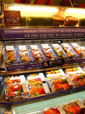 Лучшие суши в Нью-Йорке Whole-Foods