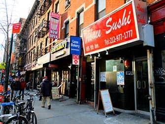 Лучшие суши в Нью-Йорке